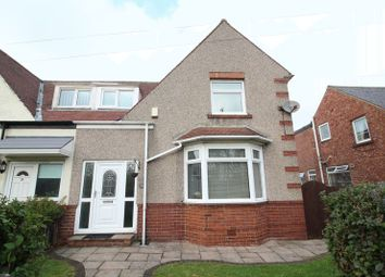 Thumbnail 3 bed semi-detached house for sale in Roman Road, Jarrow