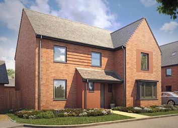 "Thumbnail 5 bed detached house for sale in ""Manning"" at Langaton Lane, Pinhoe, Exeter"