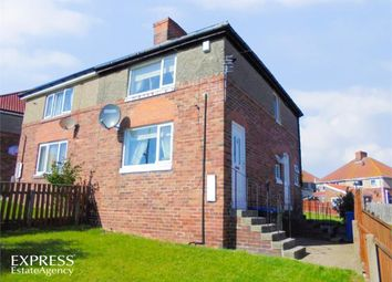 Thumbnail 3 bed semi-detached house for sale in Thorpe Crescent, Horden, Peterlee, Durham