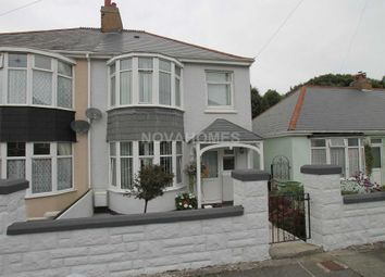 Thumbnail 3 bed semi-detached house for sale in Waverley Road, Higher St Budeaux