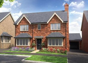 Thumbnail 4 bed detached house for sale in Home Farm Drive, Boughton, Northampton, Northamptonshire