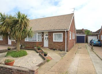 Thumbnail 2 bed semi-detached bungalow for sale in Croshaw Close, Lancing, West Sussex