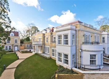Thumbnail 3 bed flat for sale in Ridgewood, Brooklands Road, Weybridge, Surrey