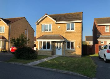 Thumbnail 4 bed detached house to rent in Parkside Gardens, Widdrington, Northumberland