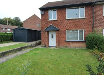 Thumbnail 3 bed semi-detached house for sale in Middleton Drive, Inkersall, Chesterfield