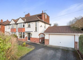 Thumbnail 5 bedroom semi-detached house for sale in Moor Grange Rise, West Park, Leeds