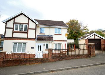 Thumbnail 3 bed detached house for sale in Park Drive, Bargoed