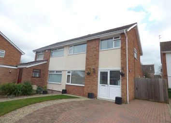 Thumbnail 3 bed semi-detached house for sale in Middleton Close, Wigston, Leicester, Leicestershire