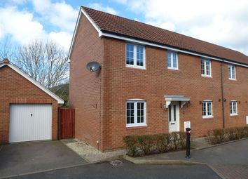 Thumbnail 3 bed semi-detached house to rent in James Stephens Way, Thornwell, Chepstow