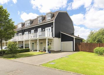 Thumbnail 4 bed end terrace house for sale in Beaumont Drive, Worcester Park