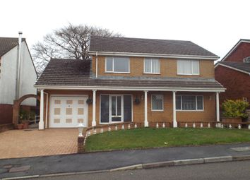 Thumbnail 4 bed detached house for sale in Ffordd Y Morfa, Cross Hands, Llanelli
