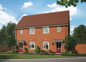 Thumbnail 2 bed semi-detached house for sale in Blue Boar Lane, Off Wroxham Road, Norwich, Norfolk