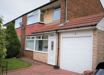 Thumbnail 3 bed semi-detached house for sale in East Forest Hall Road, Newcastle Upon Tyne
