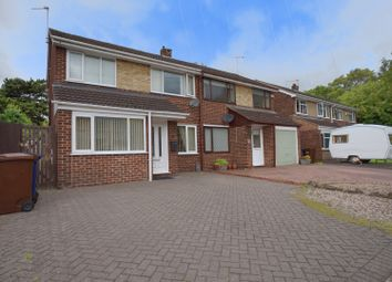 Thumbnail 3 bed semi-detached house for sale in Bramell Close, Branston