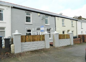 Thumbnail 3 bed terraced house for sale in Church Street, Tredegar, Blaenau Gwent.