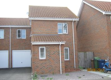 Thumbnail 3 bedroom link-detached house to rent in Fields View, Benwick