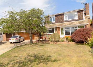 Thumbnail 5 bed detached house for sale in Bapton Close, Exmouth, Devon