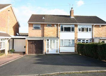 Thumbnail 4 bed semi-detached house for sale in Hamilton Drive, Stourbridge
