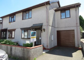 Thumbnail 3 bed semi-detached house for sale in New Street, Bugle, St. Austell