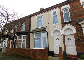Thumbnail 3 bedroom terraced house for sale in Elizabeth Street, Crewe, Cheshire