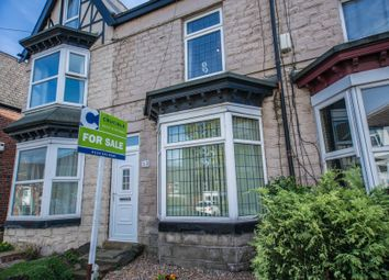Thumbnail 3 bed terraced house for sale in Rockley Road, Hillsborough, Sheffield