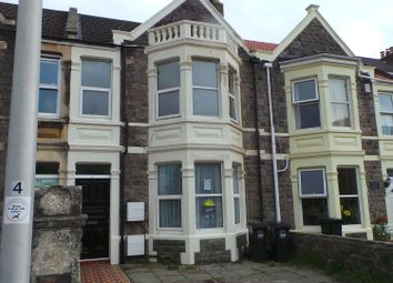 Thumbnail 3 bed flat to rent in Quantock Road, Weston-Super-Mare