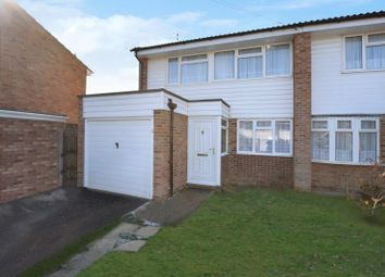 Thumbnail 3 bed semi-detached house for sale in Abraham Drive, Silver End, Witham