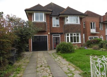 Thumbnail 4 bed detached house to rent in Woodrough Drive, Moseley, Birmingham