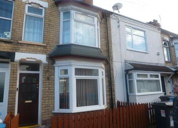 Thumbnail 3 bed terraced house to rent in Brecon Street, Hull