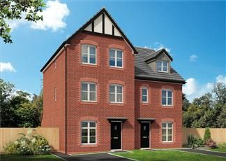 Thumbnail 4 bedroom semi-detached house for sale in Bank Lane, Kirkby
