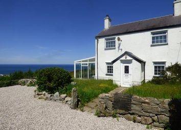 Thumbnail 3 bed detached house for sale in Mynydd Nefyn, Pwllheli, Gwynedd