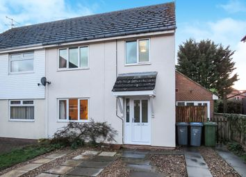 Thumbnail 3 bed semi-detached house for sale in Church View Close, Melton, Woodbridge