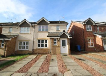 Thumbnail 3 bedroom semi-detached house for sale in Bowhouse Drive, Glasgow