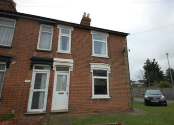 Thumbnail 1 bedroom flat to rent in Rosehill Road, Ipswich, Suffolk