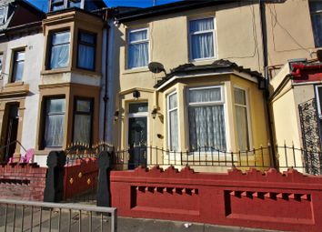Thumbnail 3 bed terraced house for sale in Wellington Road, Blackpool