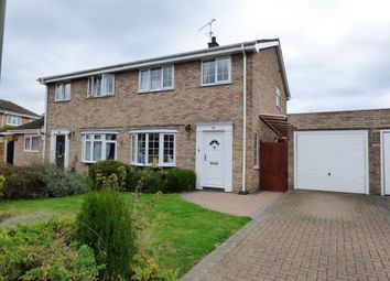 Thumbnail 3 bed semi-detached house for sale in Woburn Avenue, Farnborough