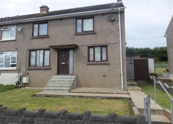 Thumbnail 3 bed semi-detached house to rent in Danybanc, Llanelli