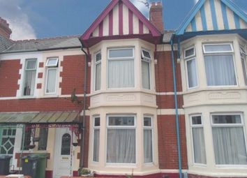 Thumbnail 3 bed property to rent in Dinas Street, Grangetown, Cardiff