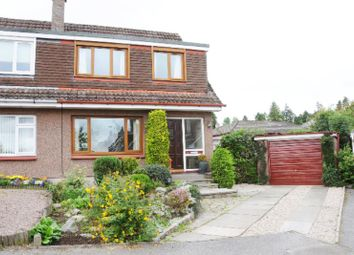 Thumbnail 3 bed semi-detached house to rent in St Nicholas Crescent, Banchory