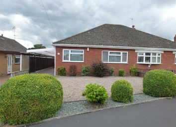 Thumbnail 2 bed semi-detached bungalow for sale in Churchill Avenue, Trentham, Stoke-On-Trent