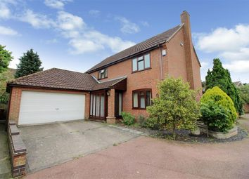 Thumbnail 4 bedroom detached house for sale in The Meadows, Thurton, Norwich