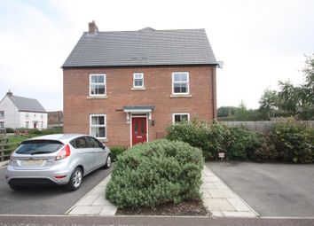 Thumbnail 3 bedroom town house for sale in Headstock Close, Coalville