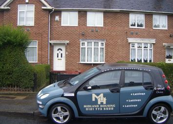 Thumbnail 3 bed terraced house to rent in Wychbold Crescent, Birmingham