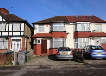 Thumbnail 3 bed semi-detached house to rent in Harrow Road, Wembley