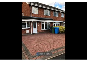 Thumbnail 3 bed semi-detached house to rent in Norman Road, Penkridge, Stafford