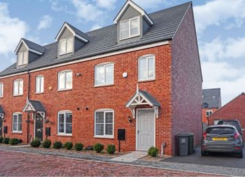 3 bed town house for sale in Wolfson Close, Syston, Leicester LE7