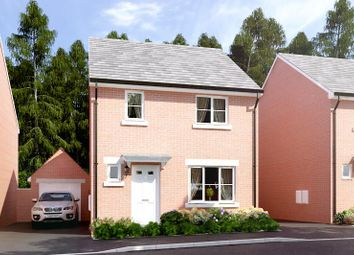 Thumbnail 3 bed property for sale in Lawnspool Drive, Kempsey, Worcester