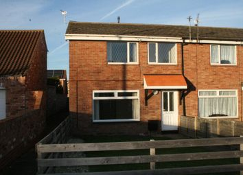 Thumbnail 3 bed end terrace house to rent in Station Road, Stallingborough