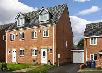 Thumbnail 3 bed semi-detached house for sale in St. Johns Close, Chase Terrace, Burntwood
