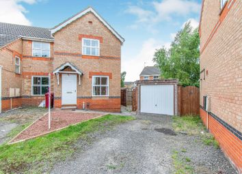 Thumbnail 2 bed end terrace house for sale in Rose Walk, Scunthorpe
